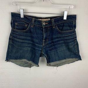 J Brand Medium Wash Cutoff Shorts